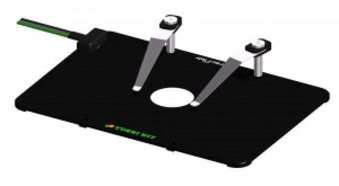 Platine chauffanteTOKAI en métal pour microscope inversé LEICA manuel/motorisé