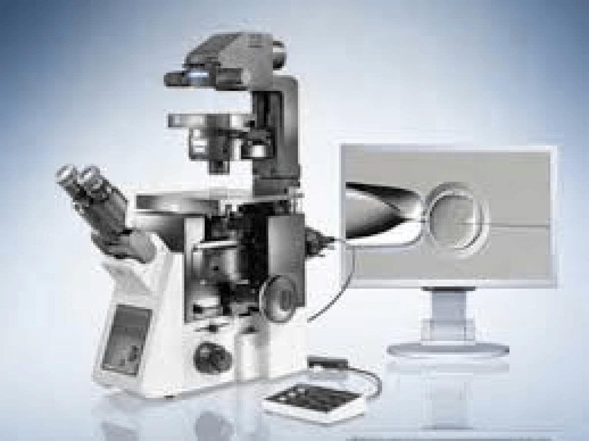 Microscope OLYMPUS IX73 -2