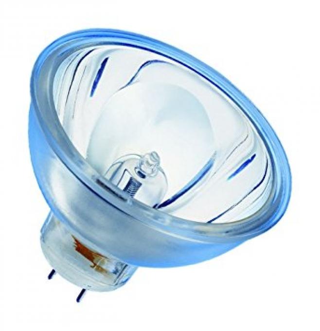 Lampe 12V 100W GZ6.35 HLX + Miroir