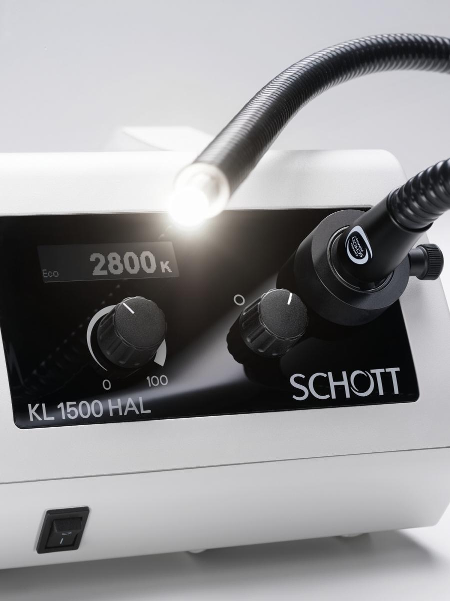 Source de lumière froide KL 1500 HAL à lampe halogène -3