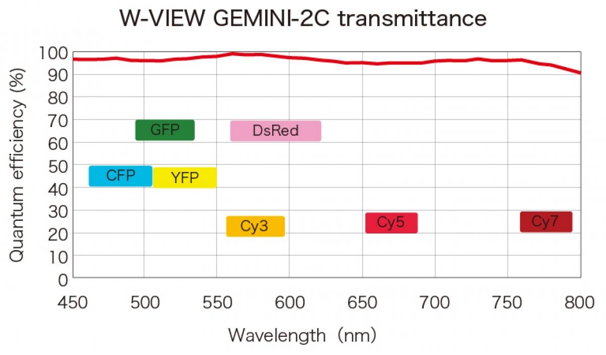 W-VIEW GEMINI 2C  Image Splitting Optics -2
