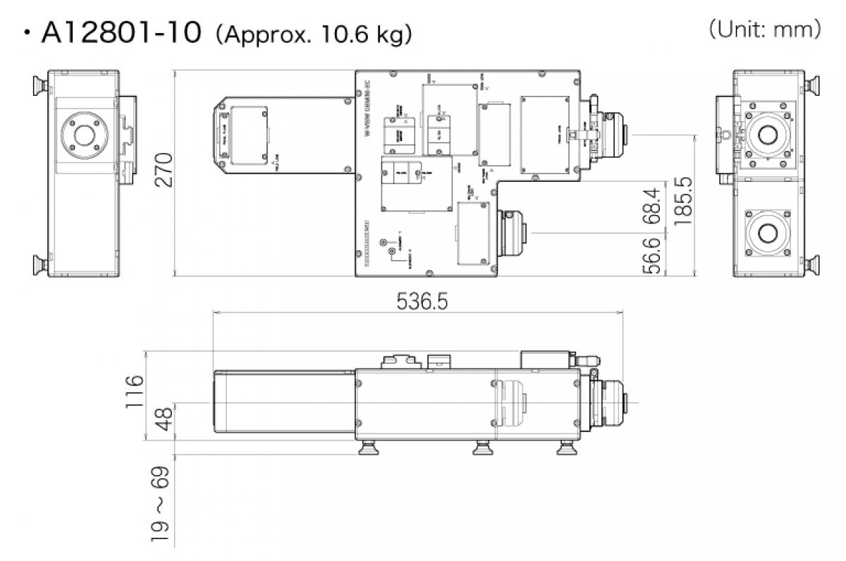 W-VIEW GEMINI 2C  Image Splitting Optics -4