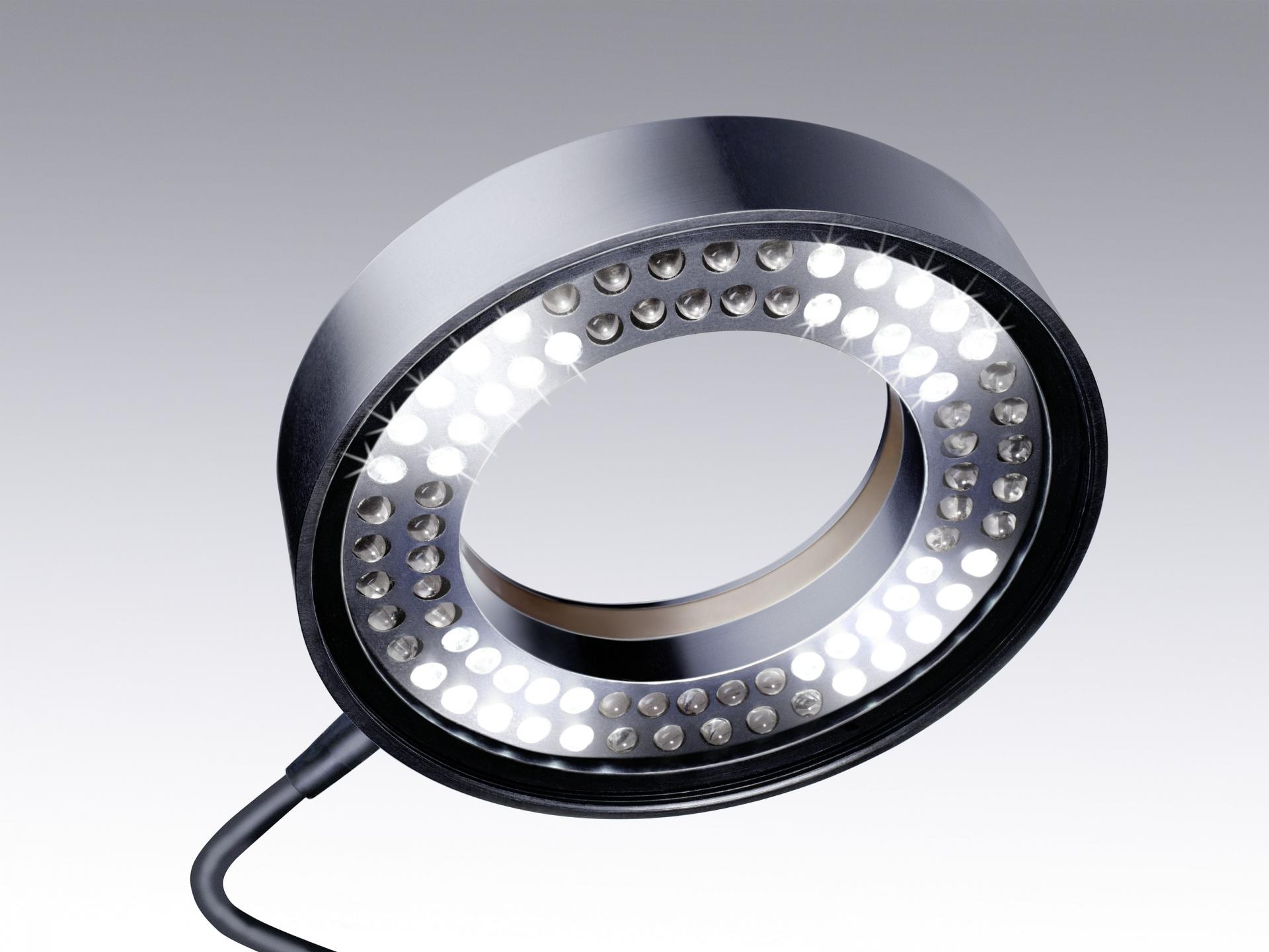 Éclairage pour stéréomicroscopes