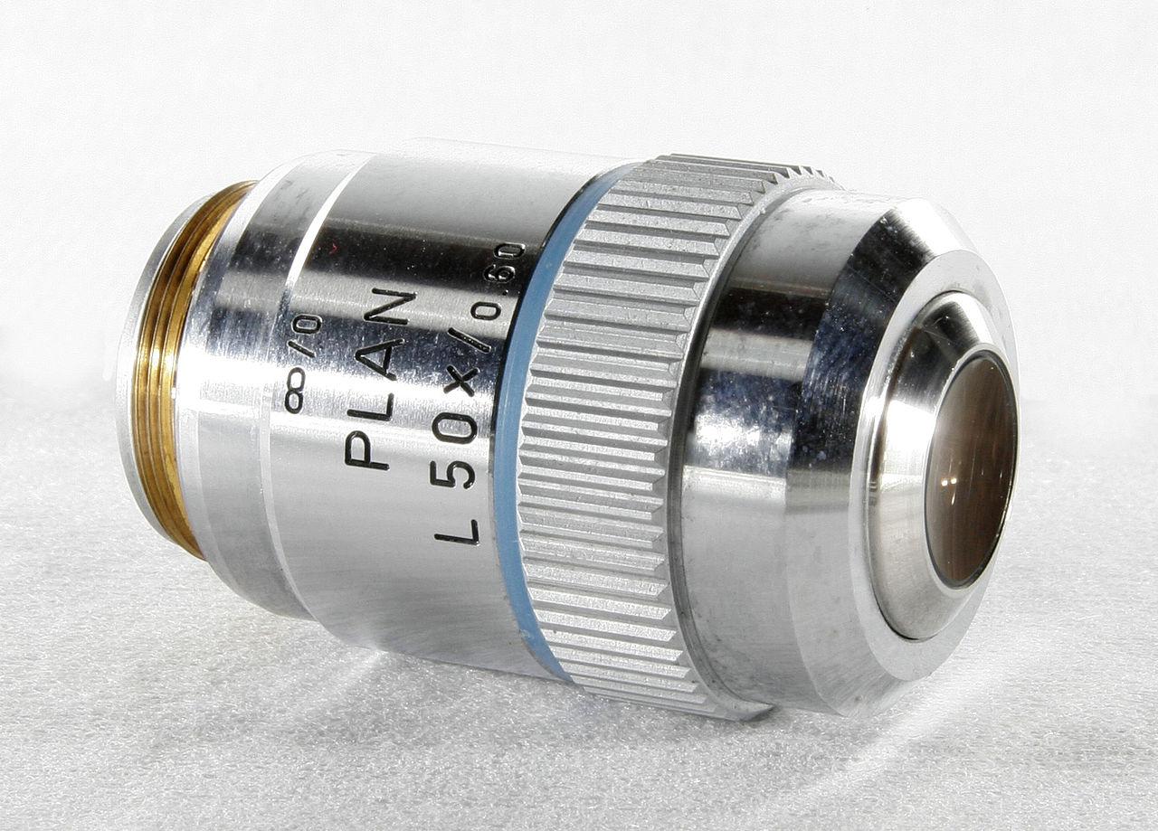 Objectifs microscopes