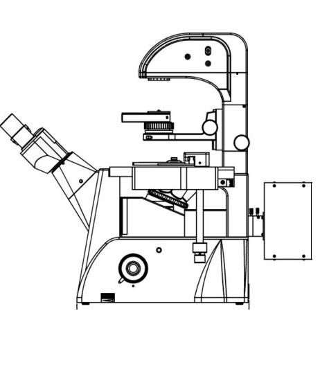 pour microscope inversé